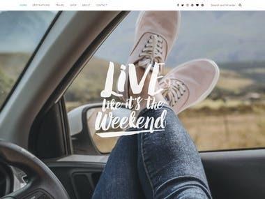 WordPress Blog livelikeitstheweekend.com