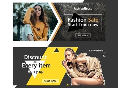 Web Banners Designs