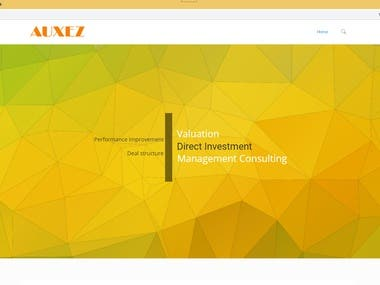 AUXEZ website