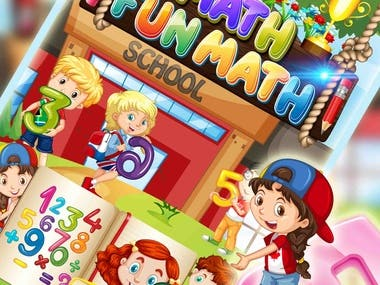 iMath Fun Learning Educational App Game for Kids