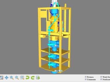 Drilling equipment ERP: 3D module