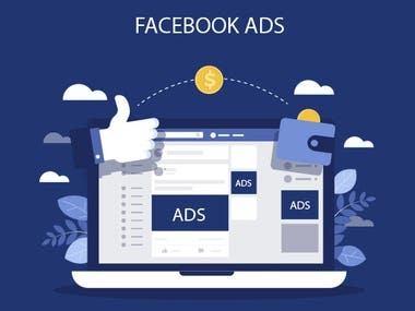 Facebook paid Ads.