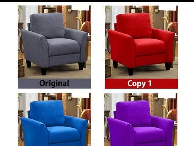 Change Color of an Object with photoshop
