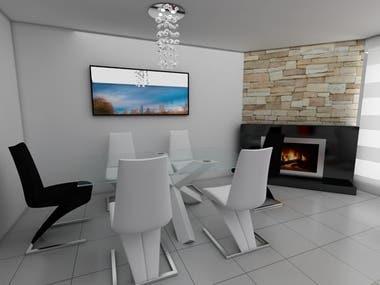 Render Diseño Interior