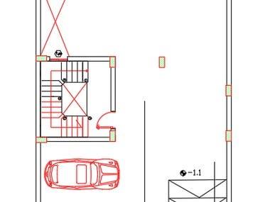 Villa Design and drawing