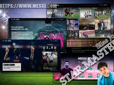 Lionel Messi's Official Site