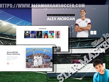 Alex Morgan's Official Site