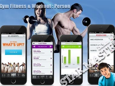 Gym Fitness & Workout Women : Person