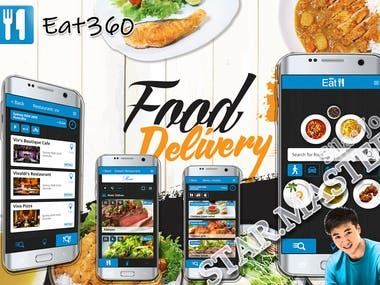 Food Delivery App(iOS & Android)