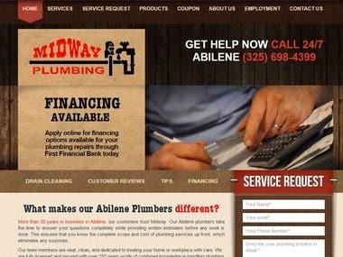 Midway Plumbing Website