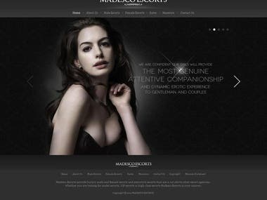 Escort Agency Website