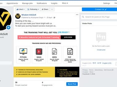 Facebook Marketing by Ads Posting