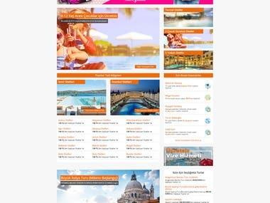 Booking Website.