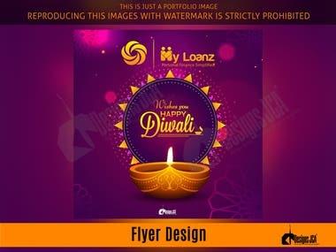 Diwali Flyer for My Loanz