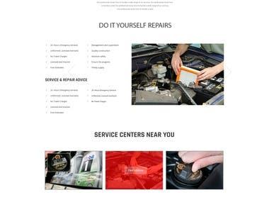 AutoMov Website Design