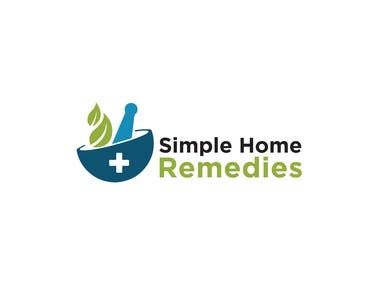 Simple Home Remedies Logo Design
