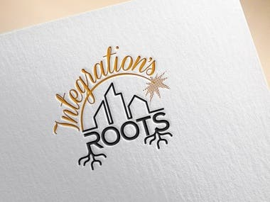 Integrations roots logo design