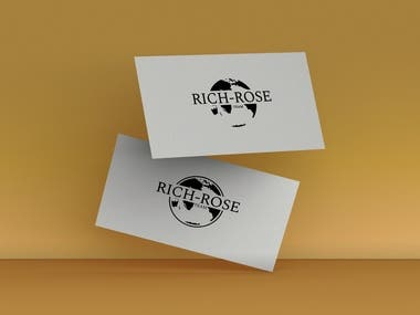 Business Card For Realty Business, USA