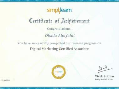 Certification in social media