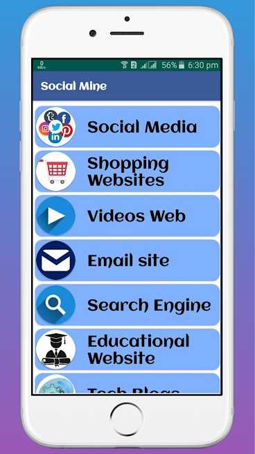 I am create a Social media app