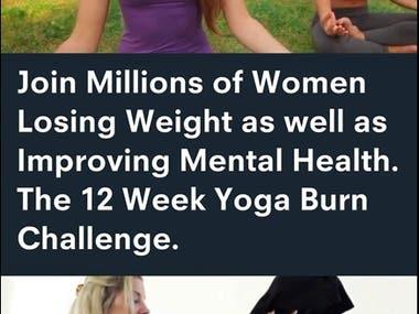 Snapchat Ad Video: Yoga Burn