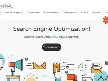Digital Marketing - Website