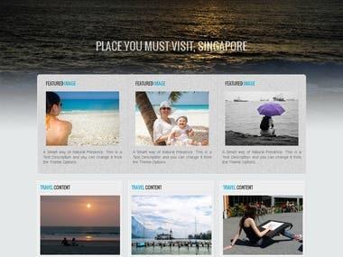 Wordpress based toursg.com