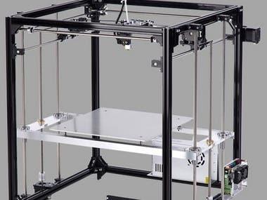 3D Printer + 5-axis