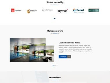 Cleaning service wordpress website (Wining Entry)