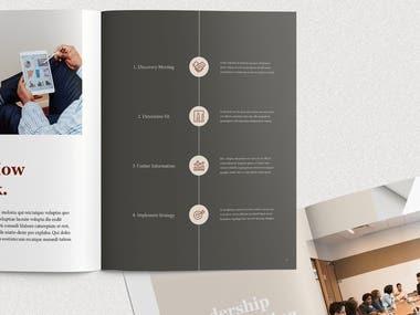 Wealth Management --- Brochure Design