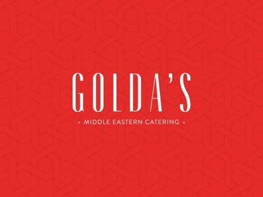 Golda's Catering --- Brand Identity