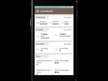 Android - Rocket Bazaar Vendor App