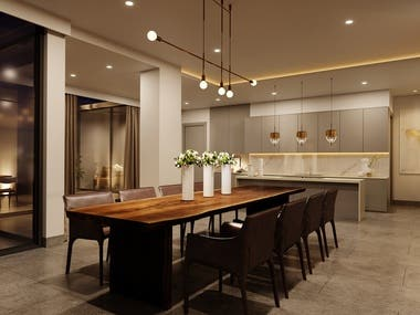 Dining and Kitchen 02