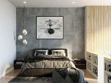 Conceptual Bedroom Design