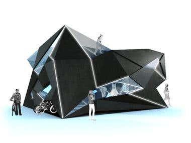 Cubist space - amuse us/ store