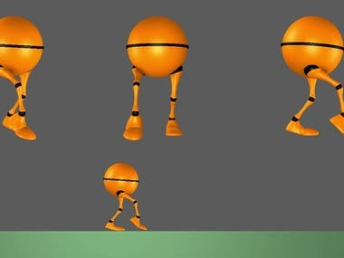 Animation 3D - Walk Cycle