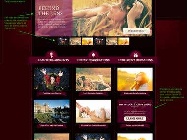 Rapid turnaround - HTML,CSS, Wordpress