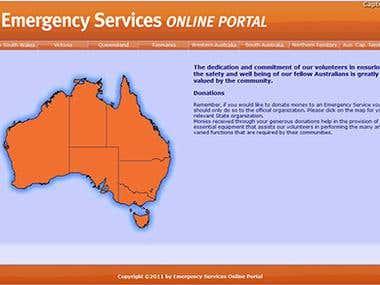 Emergency Services Online Portal