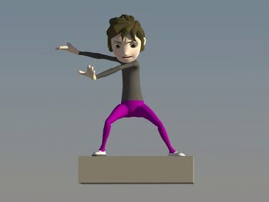 3D Animating - Sample Motion