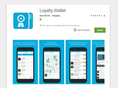 Android - Loyalty Wallet
