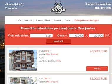 Mega City - Real estate agency from Zrenjanin, Serbia
