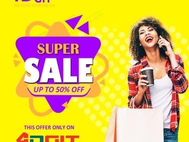 Stylish ad Banner Design