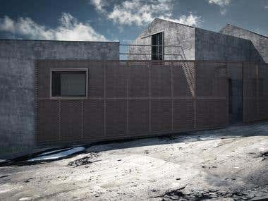 Architectural render - Exteriors