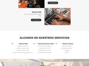Baraka - Rebuild website