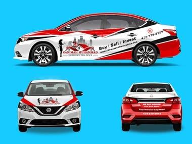Creative Car Wrapping