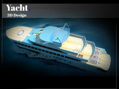 Basic 3D Yacht Design