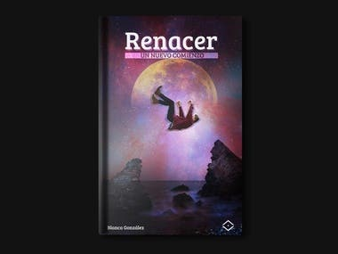 """Book Cover """"Renacer"""""""