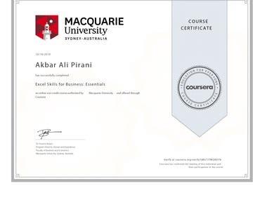 Excel Certification