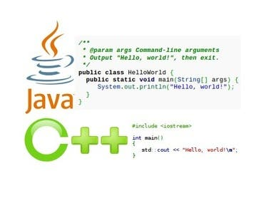 JAVA & C++