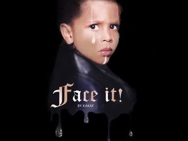 """CD COVER """"FACE IT"""""""